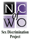 NCWO Sex Discrimination Project